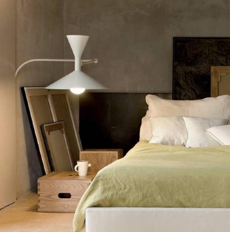 applique version mini de la lampe de marseille le corbusier anne tack. Black Bedroom Furniture Sets. Home Design Ideas